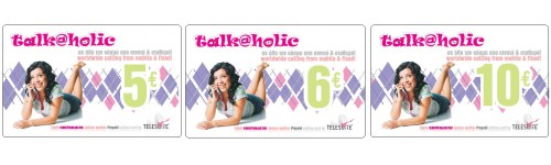 Talk@holic Card